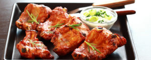 Spare Ribs with Sour Cream